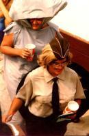 Maggie Gormley and cousin Deb Thompson Kurosz