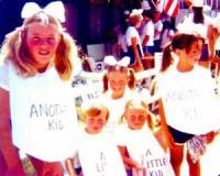 Breezy Point Mardi Gras Lynda Zelleck, Rick & Rachel Flanders, Keri Timmins, Eileen
