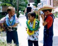 Breezy Point Mardi Gras Reid Ave boys