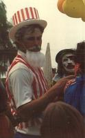 Joe Scannell Uncle Sam Mardi Gras