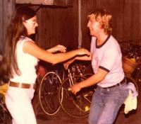 Deb Thompson and Raymond Hendry Sugar Bowl Antics