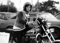 Don Ritter on bike Rockaway Point