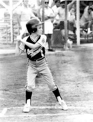 Englewood, FL Little League All-Stars at Bat