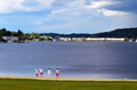 Lake Hopatcong State Park Lifeguards Scene 2 by MoeR