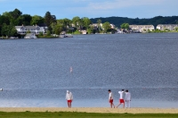 Lake Hopatcong State Park Scene by MoeR