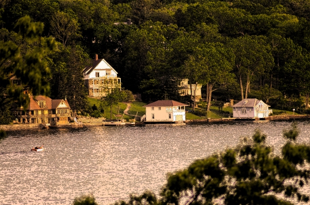 Lake Hopatcong Scene 2 Enhanced by MoeR