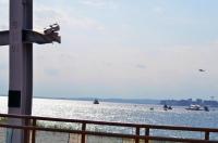 Memorial Cross, Space Shuttle Enterprise, Coney Island photo by MoeR