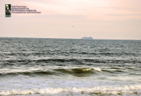 Cruise ship heading out