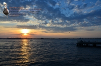 Rockaway Point Dock Sunset 01