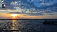 Rockaway Point Dock Sunset 02