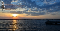 Rockaway Point Dock Sunset 03 Wide