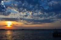 Rockaway Point Dock Sunset 05