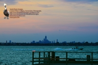 WTC and Rockaway Point Dock After Sunset