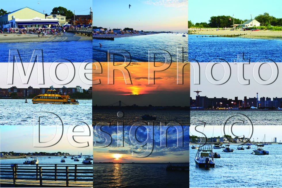 Breezy Point Bayside Scenes Collage August 2012