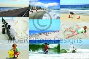 Rockaway Beach Collage 01 August 2012