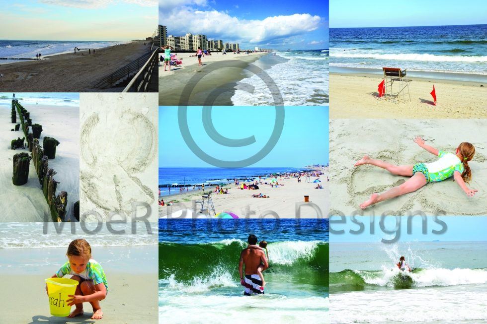 Rockaway Beach Collage 01 August 2012