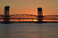 Jamaica Bay Sunset - Verrazano Under Marine Park Bridge to Brooklyn