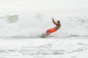 Rockaway Beach, Queens, NYC September Surf